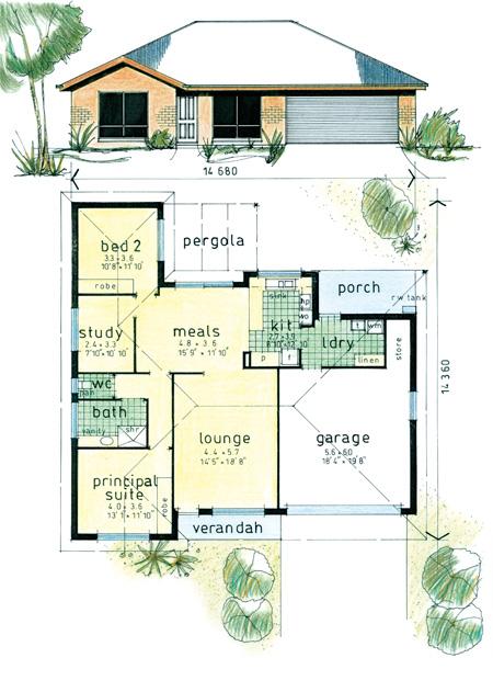 Floor Plan Hallmont Estate